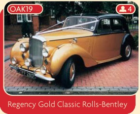 Regency Gold Classic Rolls-Bentley