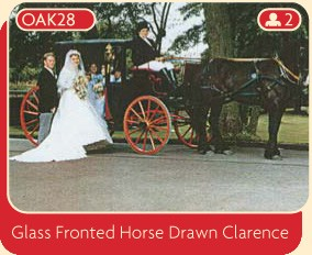 Glass Fronted Horse Drawn Clarence