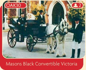 Masons Black Convertible Victoria
