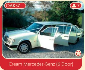 Cream Mercedes-Benz