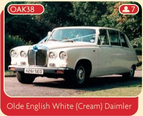 Olde English White (Cream) Daimler