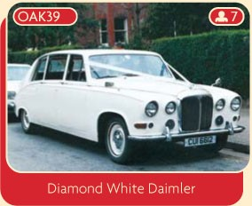 Diamond White Daimler